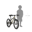 """KELLYS Lumi 30 20"""" gyermek kerékpár 2021 - neonsárga"""