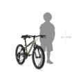 """KELLYS Lumi 30 20"""" gyerek kerékpár 2021 - neonsárga"""