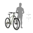 """KELLYS Spider 30 27,5"""" MTB kerékpár 2021 - fekete"""