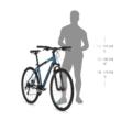KELLYS Cliff 70 férfi cross trekking kerékpár 2021 - szürke