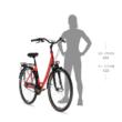 KELLYS Avery 70 városi kerékpár 2021 - fehér