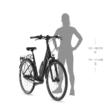 KELLYS Estima 50 női városi E-bike 2021 - fehér
