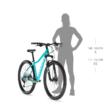 """KELLYS Vanity 30 26"""" női MTB kerékpár 2021 - szürke"""