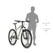 """KELLYS Spider 10 26"""" MTB kerékpár 2021 - neonsárga"""