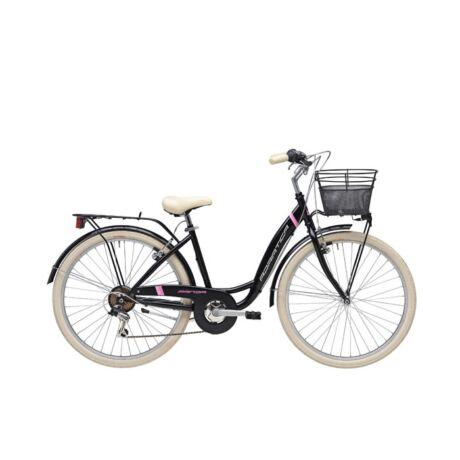 """ADRIATICA Panda 28"""" városi kerékpár - fekete"""