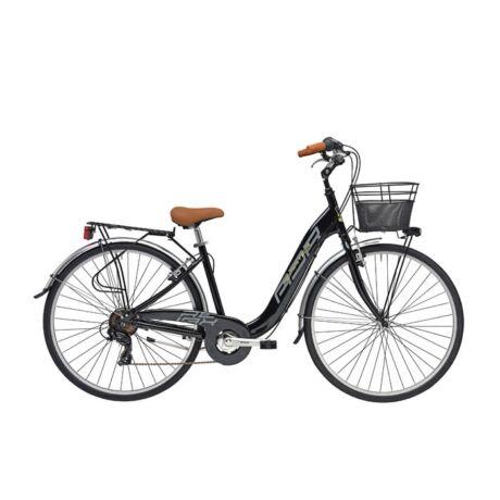 """ADRIATICA Relax 26"""" városi kerékpár - fekete"""