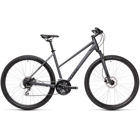 CUBE Nature női cross trekking kerékpár 2021 - szürke/fekete