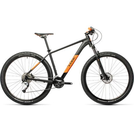 """CUBE Aim SL 29"""" MTB kerékpár 2021 - fekete/narancs"""