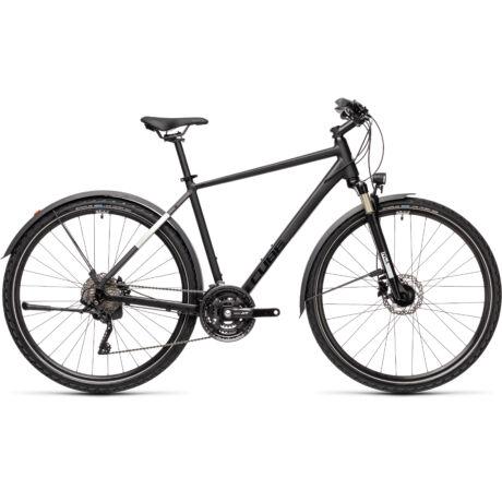 CUBE Nature EXC Allroad férfi trekking kerékpár 2021 - fekete/szürke