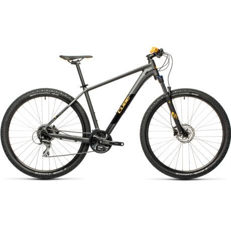 """CUBE Aim Race 29"""" MTB kerékpár 2021, szürke-narancssárga"""