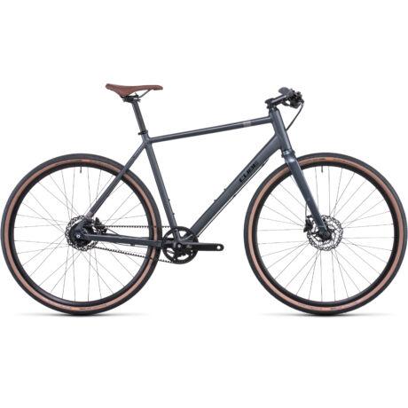 CUBE Hyde Race városi kerékpár 2022 - szürke/fekete