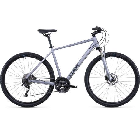 CUBE Nature EXC férfi trekking kerékpár 2022 - ezüst/fekete