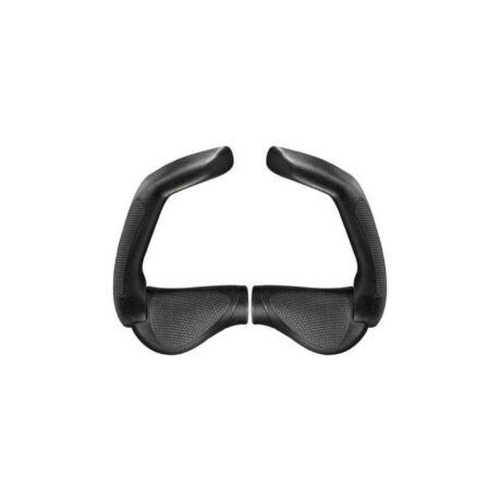 ERGON GP5-L Gripshift kerékpáros markolat extra hosszú szarvval, fekete