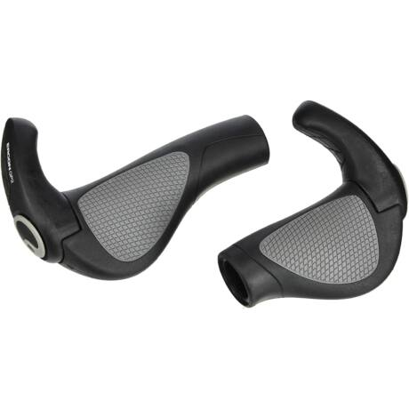 ERGON GP2-L Rohloff/Nexus komfort kerékpáros markolat kis szarvval, fekete