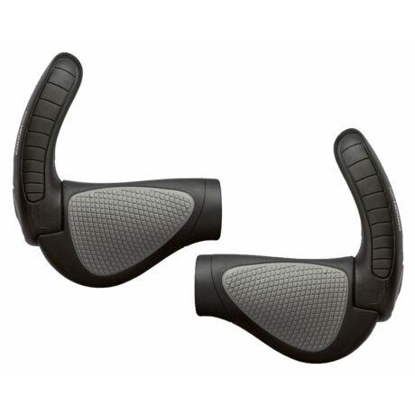 ERGON GP3-L Gripshift kerékpáros markolat közepes szarvval, fekete