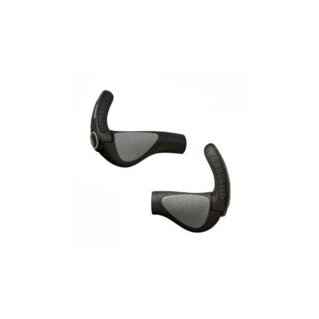 ERGON GP3-S Rohloff/Nexus kerékpáros markolat közepes szarvval, fekete