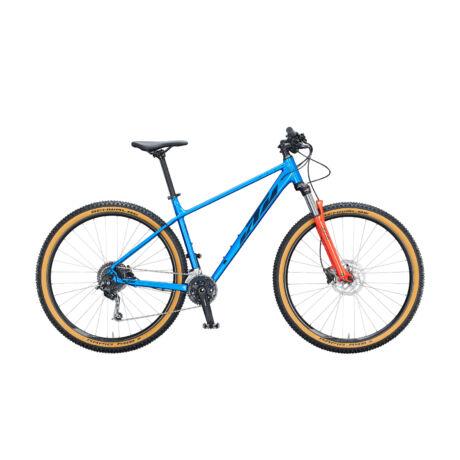 """KTM Ultra Fun 29"""" MTB kerékpár 2021 - kék/narancs"""