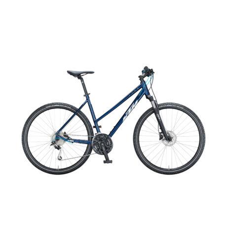 KTM Life Road női cross trekking kerékpár 2021 - kék