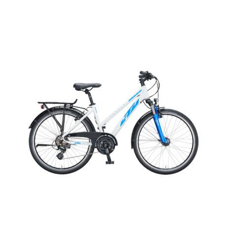 "KTM Country Star 26"" női kerékpár 2021 - fehér/kék"