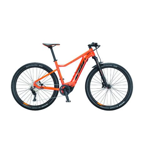 KTM Macina Race 291 MTB E-bike 2021, narancs