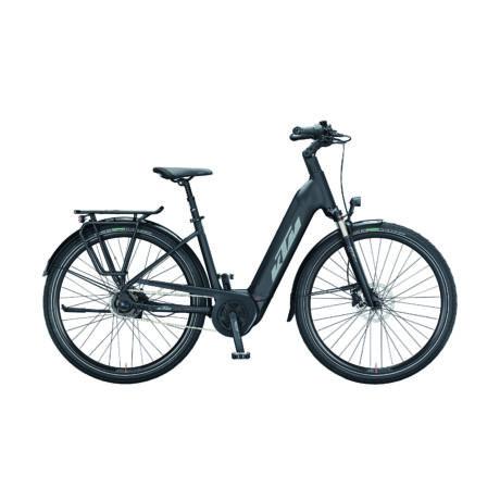 KTM Macina City A510 uniszex városi E-bike 2021, fekete
