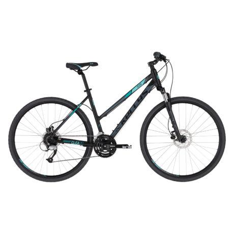 KELLYS Clea 90 női cross trekking kerékpár 2021 - fekete/aqua