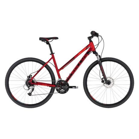 KELLYS Clea 90 női cross trekking kerékpár 2021 - piros