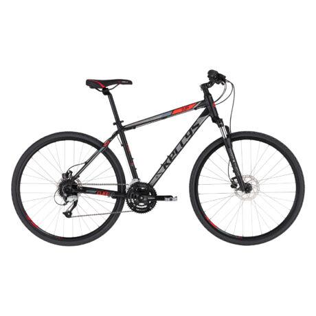 KELLYS Cliff 90 férfi cross trekking kerékpár 2021 - fekete/piros