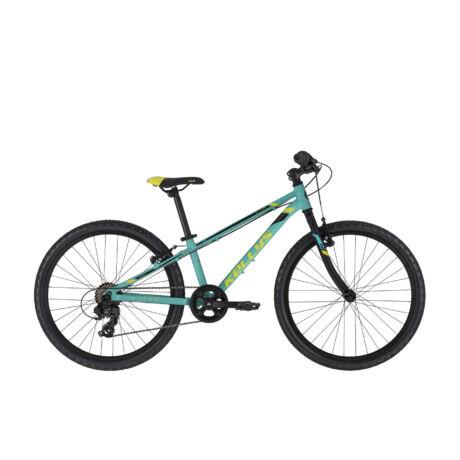 """KELLYS Kiter 30 24"""" gyermek kerékpár 2021, türkiz"""