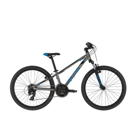 """KELLYS Kiter 50 24"""" gyermek kerékpár 2021, titánkék"""