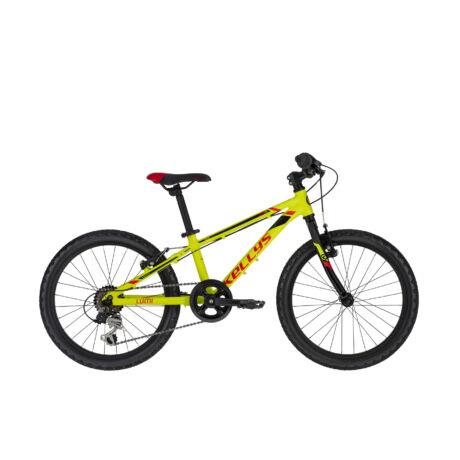 """Kellys Lumi 30 20"""" gyerek kerékpár 2021, neonsárga"""