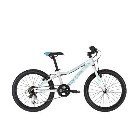 """KELLYS Lumi 30 20"""" gyermek kerékpár 2021, fehér"""
