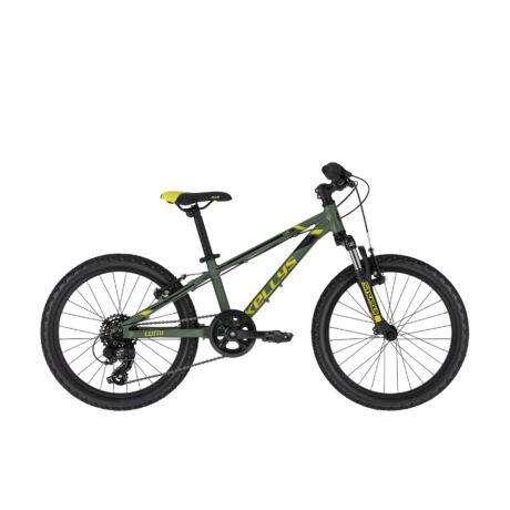 """KELLYS Lumi 50 20"""" gyermek kerékpár 2021, zöld"""