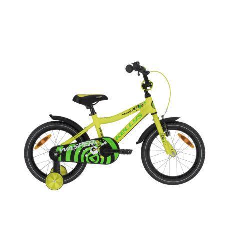"""KELLYS Wasper 16"""" gyerek kerékpár 2021- sárga"""