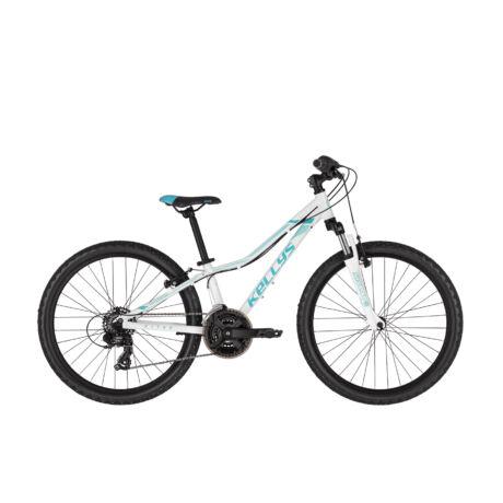 """KELLYS Kiter 50 24"""" gyermek kerékpár 2021, fehér"""