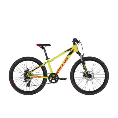 """KELLYS Marc 50 24"""" gyermek kerékpár 2021, neon sárga"""