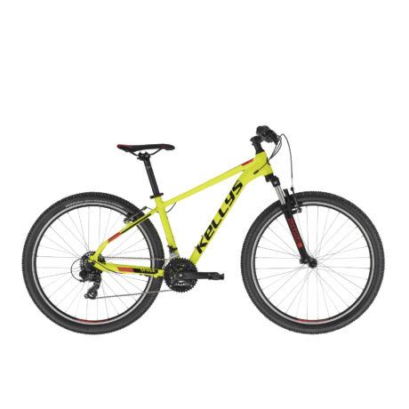 """KELLYS Spider 10 27,5"""" MTB kerékpár 2021 - neonsárga"""