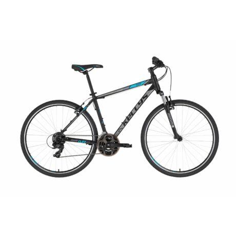 KELLYS Cliff 10 férfi cross trekking kerékpár 2021 - fekete/kék