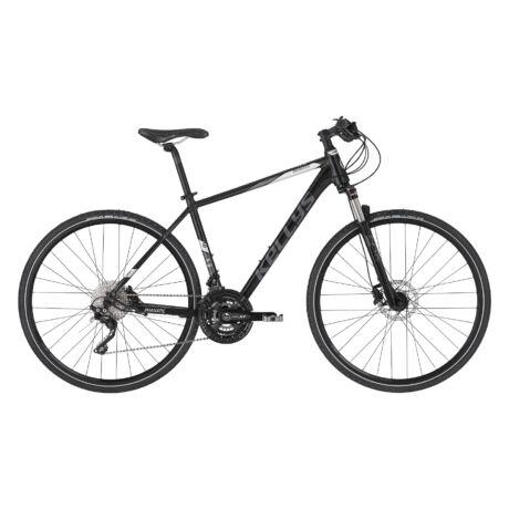 KELLYS Phanatic 90 férfi cross trekking kerékpár 2021 - fekete