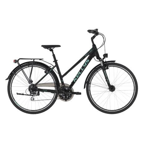 KELLYS Cristy 50 női trekking kerékpár 2021, fekete