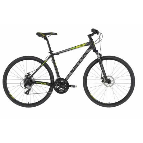 KELLYS Cliff 70 férfi cross trekking kerékpár 2021 - fekete/zöld