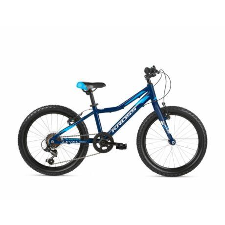 """KROSS Level Mini 3.0 Light 20"""" gyerek kerékpár 2021 - kék"""