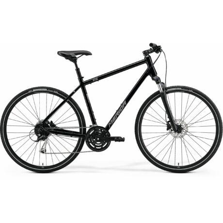 MERIDA Crossway 100 férfi cross trekking kerékpár 2021 - fényes fekete