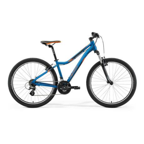 """MERIDA Matts 6.10-V 26"""" MTB kerékpár 2021 - selyemkék/narancs"""