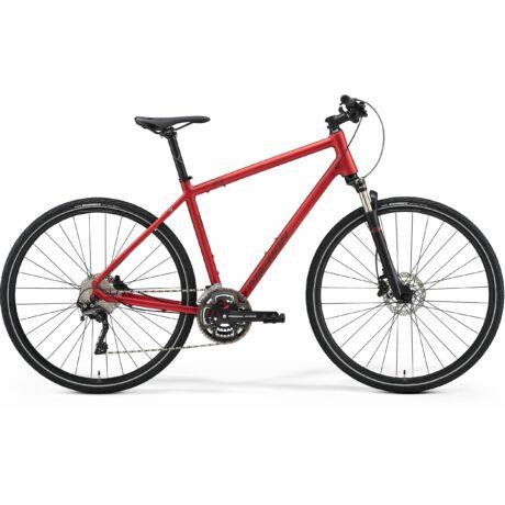 MERIDA Crossway 500 férfi cross trekking kerékpár 2021 - matt bordó