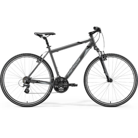 MERIDA Crossway 10-V férfi cross trekking kerékpár 2021 - antracit/fekete