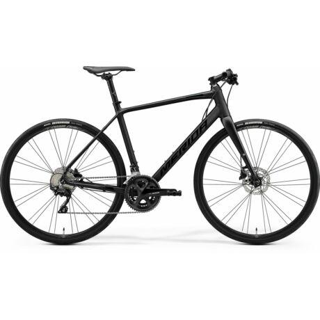 MERIDA Speeder 400 fitness kerékpár 2021 - matt fekete