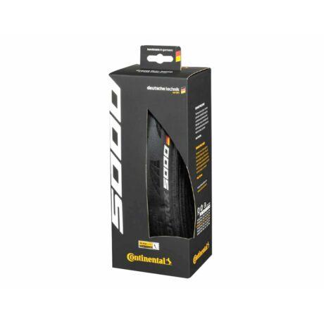 Continental gumiabroncs kerékpárhoz Grand Prix 5000 fekete/fekete, hajtogathatós