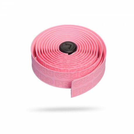 PRO HB TAPE KORMÁNYBANDÁZS rózsaszín-fekete PRO logo 3mm