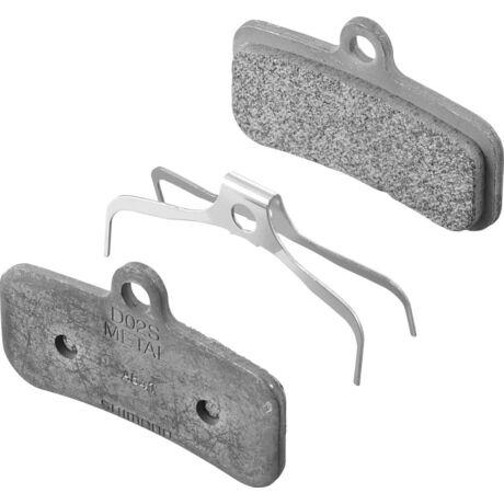 SHIMANO tárcsafékbetét D02S Metal BRM820/M810/M640 - 1 pár